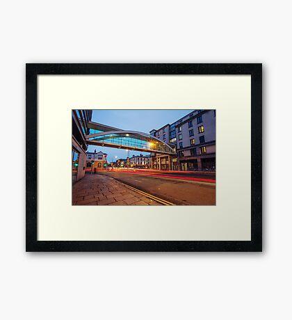 Westland Row, Dublin Framed Print