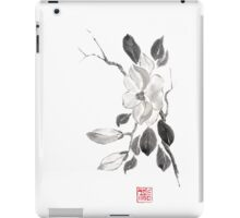 White queen sumi-e painting iPad Case/Skin