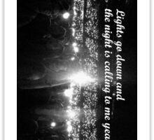 One Direction Concert Sticker