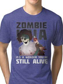 Zombie Leia Tri-blend T-Shirt