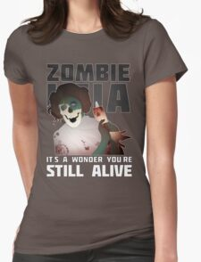 Zombie Leia Womens Fitted T-Shirt