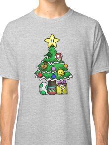 Super Mario - Mushroom Kingdom Christmas Classic T-Shirt