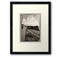 Derelict Dock Framed Print