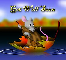 Get Well Soon Mouse by jkartlife