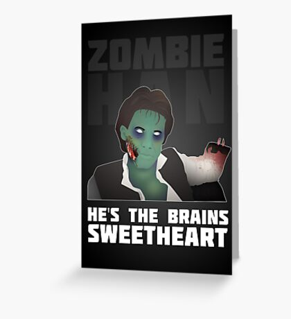 Zombie Han Greeting Card