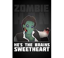 Zombie Han Photographic Print