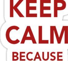 Keep Calm....I Love My Gf Sticker