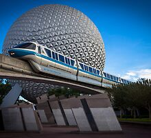 Blue Monorail by mister-matt