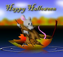 Halloween Mouse by jkartlife