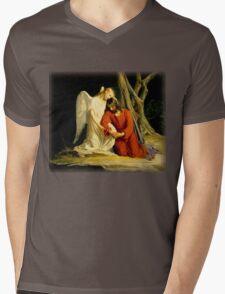 Carl Heinrich Bloch - Gethsemane Mens V-Neck T-Shirt