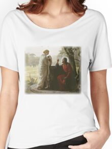 Carl Heinrich Bloch - Woman at the Well Women's Relaxed Fit T-Shirt