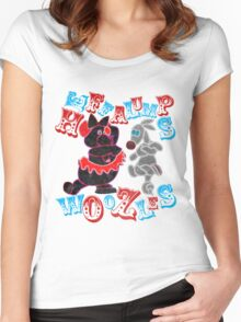 Heffalumps and Woozles Women's Fitted Scoop T-Shirt