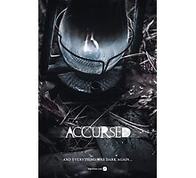 Accursed - Anniversary Poster Photographic Print