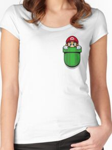 Pocket Plumber Women's Fitted Scoop T-Shirt