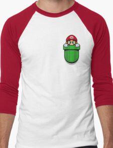 Pocket Plumber Men's Baseball ¾ T-Shirt