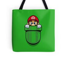 Pocket Plumber Tote Bag