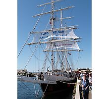 Aonther look at the 'Lord Nelson' Tall Ships Festival Port. Adelaide. Photographic Print