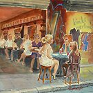 Centre Way Girls 3 by Virginia  Coghill