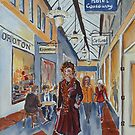 Flinders Way, Melbourne by Virginia  Coghill
