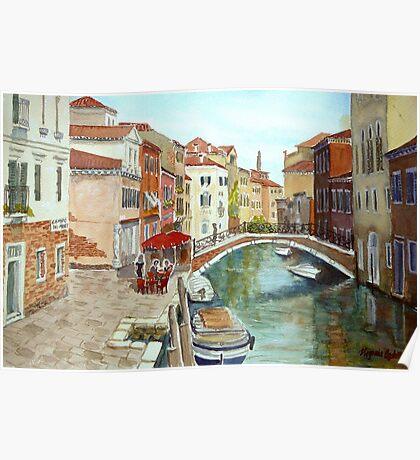 Fondamenta Mori, Venice Poster