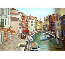 Fondamenta Mori, Venice Photographic Print