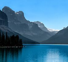 Maligne Lake 2 by Ian Fegent