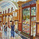 Hopetoun Tea Rooms, Block Arcade, Melbourne by Virginia  Coghill