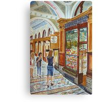 Hopetoun Tea Rooms, Block Arcade, Melbourne Canvas Print