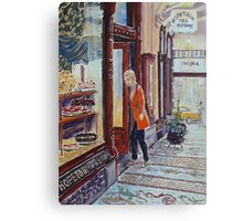 Hopetoun Tea Rooms, Block Arcade, Melbourne 2 Canvas Print