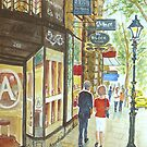 Summer Day, Collins Street by Virginia  Coghill