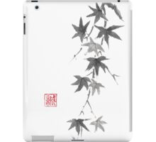 Star rain sumi-e painting iPad Case/Skin