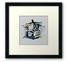 Live Together Die Alone Framed Print
