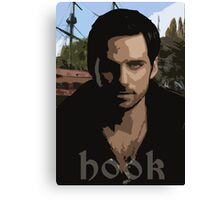 Hook- Once Upon A Time Canvas Print