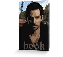 Hook- Once Upon A Time Greeting Card