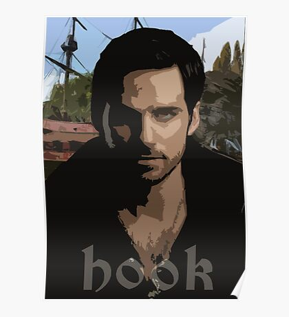 Hook- Once Upon A Time Poster