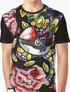 Seviper-pokemon tattoo collaboration Graphic T-Shirt