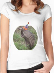 Birthday Dillo Women's Fitted Scoop T-Shirt