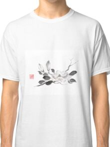 White queen sumi-e painting Classic T-Shirt