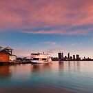 Perth City - Sun Up by Gormaymax