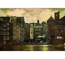 Painted Amsterdam Photographic Print