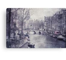 Vintage Amsterdam Canvas Print