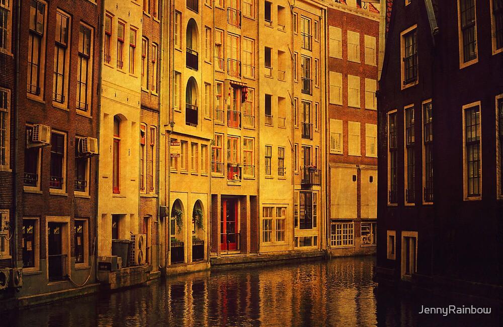 Golden Amsterdam by JennyRainbow