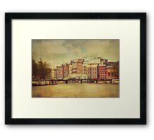 Painted Amsterdam 1 Framed Print