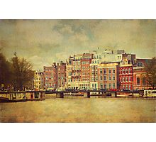Painted Amsterdam 1 Photographic Print