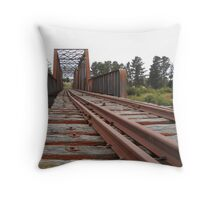 The Crookwell line - Wollondilly River bridge Throw Pillow