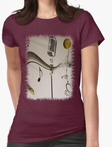 SOLD - SING ME AN OLD FASHIONED SONG! Womens Fitted T-Shirt