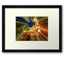 Time Travel is Possible Framed Print