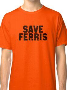 SAFE FERRIS Vintage Black Classic T-Shirt