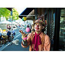 Festival Juggler Photographic Print