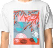 Chill Pill - throwback memphis retro vintage classic neon pop art 1980s style 80s art print hipster Classic T-Shirt